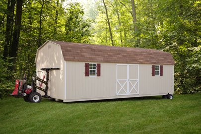 shed delivery option