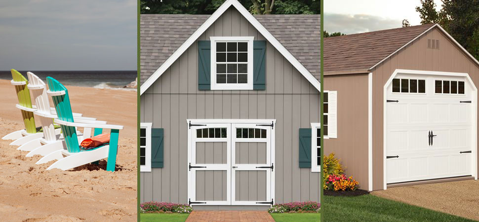 Options & Accessories for Storage Barns