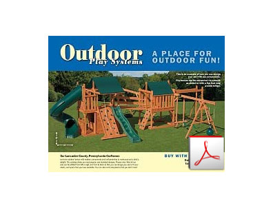pressure treated wood playsets