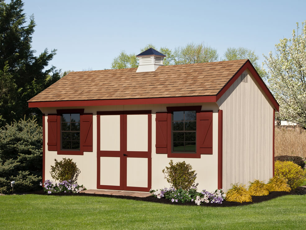 Colonial Cottage shed
