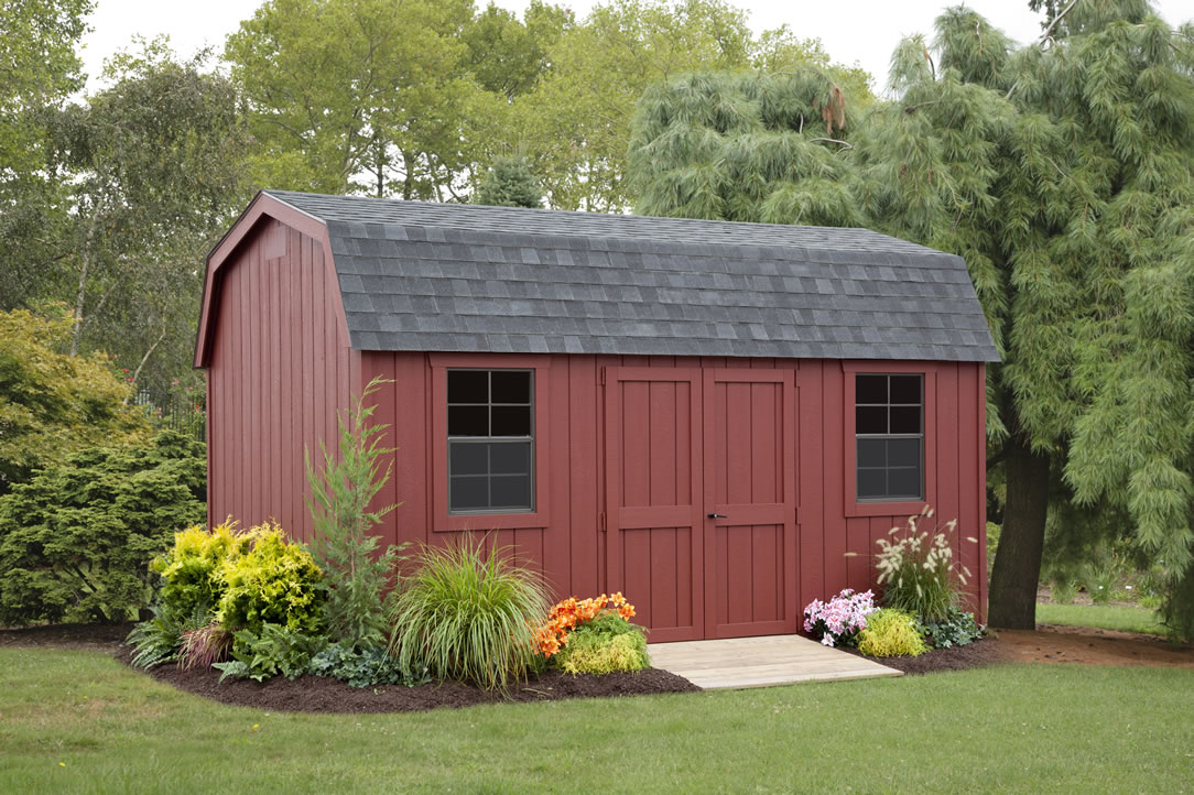Colonial Dutch shed