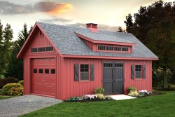 Victorian Ponderosa Sheds in Maryland and Virginia